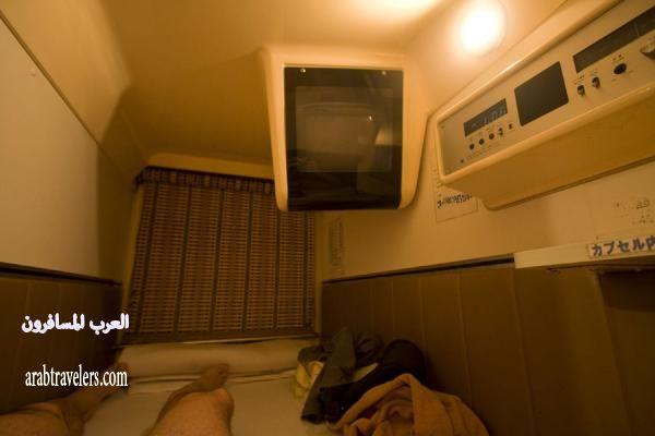 أصغر فندق في العالم فندق الكبسولة في اليابان