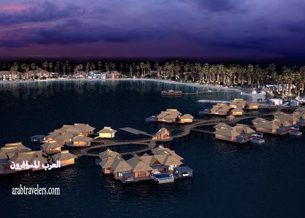 بالصور منتجع و جزيرة البنانا الجديدة و الرائعة