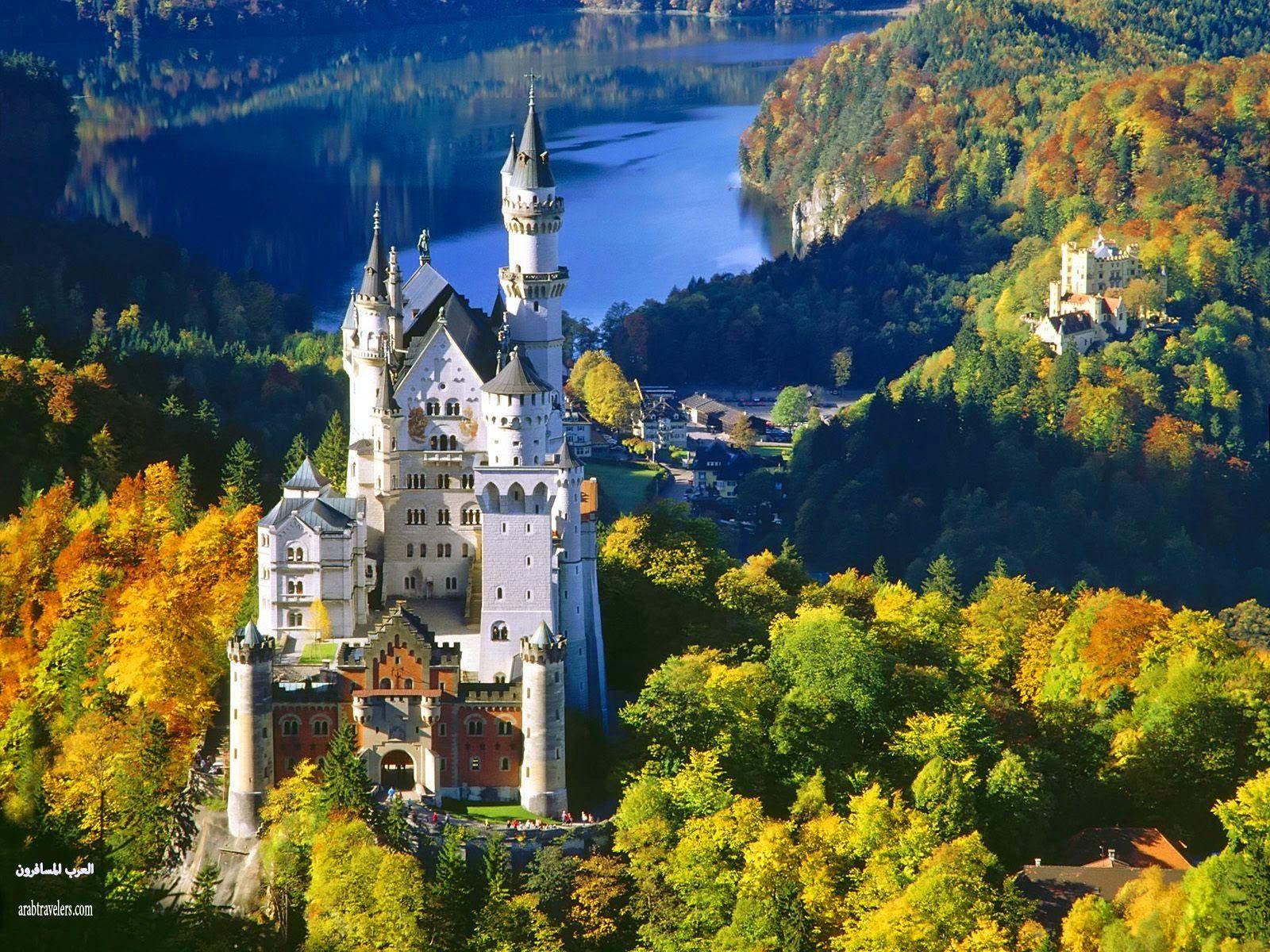 قلعة نويشفانشتاين Neuschwanstein Castle ( سياحة المانيا 2015)