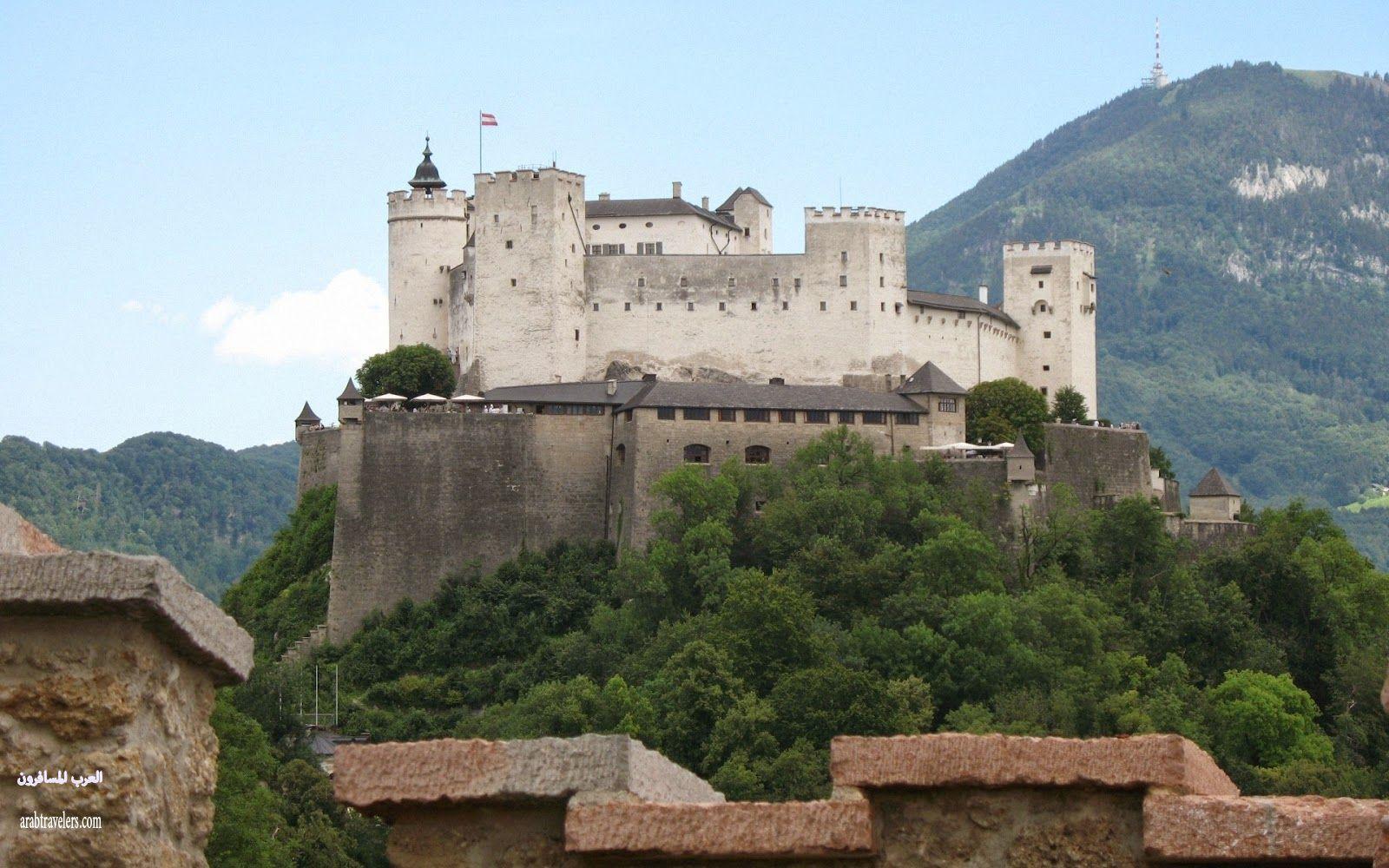 قلعة هوهين سالزبورغ Hohensalzburg Castle ( سياحة النمسا 2015)