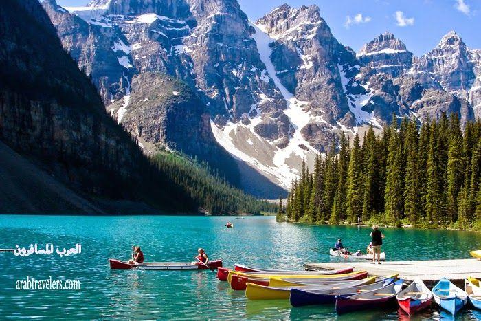 بحيرة بيتو Lake Peyto ( سياحة كندا 2015)