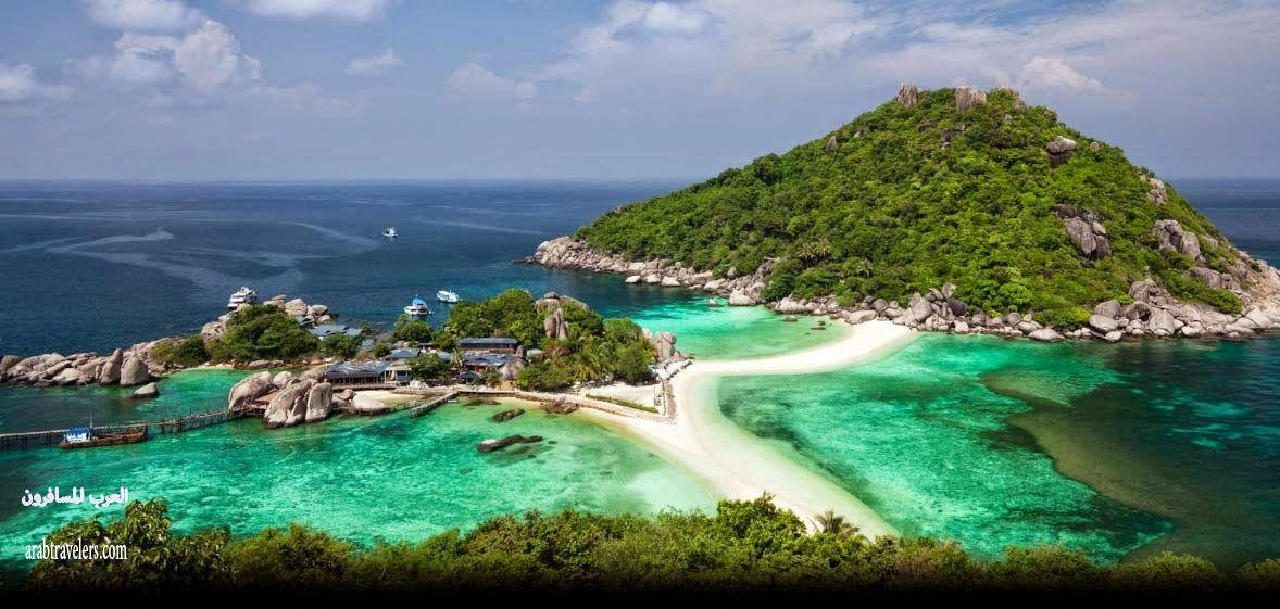 جزيرة كوتا Ko Tao ( سياحة تايلاند 2015)
