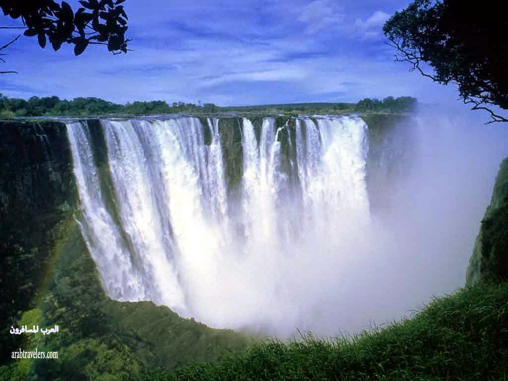شلالات فكتوريا Victoria Waterfall