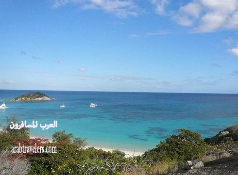 روعة الاقامة فى منتجع جزيرة ليزارد – الحاجز المرجاني العظيم – استراليا