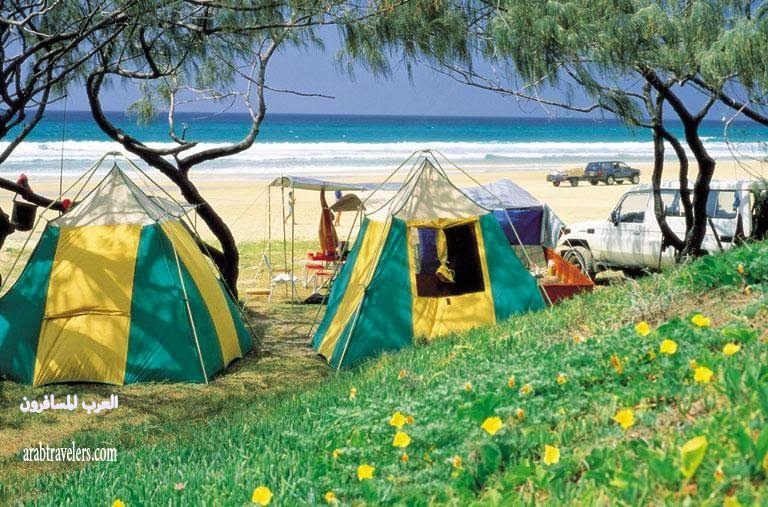 جزيرة فريزر Fraser Island ( السياحة فى استراليا 2015)