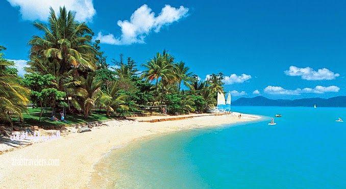 زيارة الى جزيرة الأحلام Daydream Island ( سياحة استراليا الرائعة )