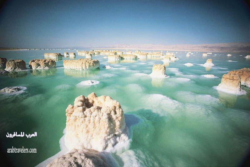 صور البحر الميت في الاردن