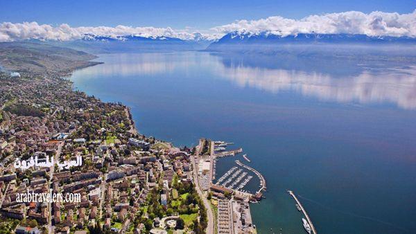 زيارة مصورة الى لوزان ، ثاني أكبر مدينة على بحيرة جنيف 2015