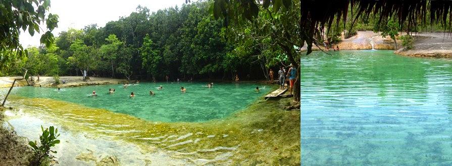 صور البحيرة الكريستالية في كرابي