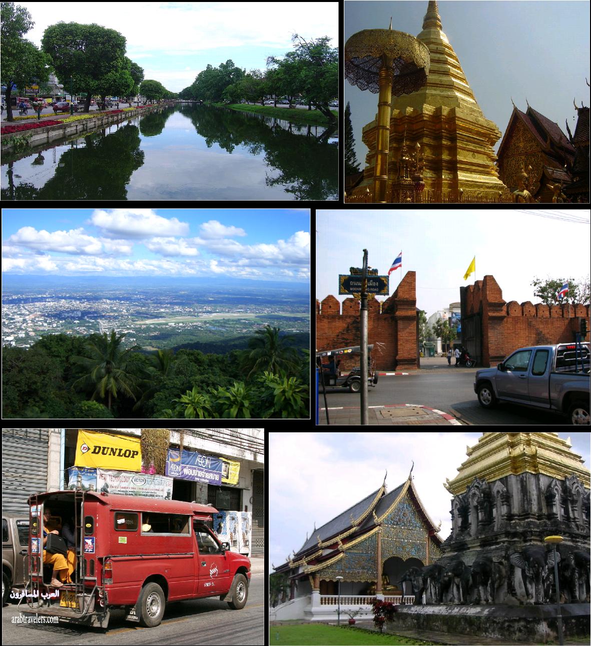 تقرير مصور عن عن مدينة تشيانج مي