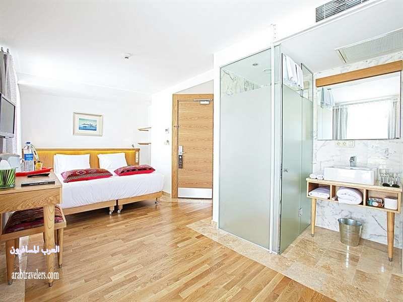 أفضل و ارخص فندق في تركيا  الفندق البيضاء @@ Blu Hotel İstanbul