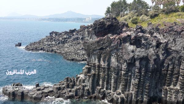 رحلتي إلى جزيرة جيجو الساحرة بكوريا