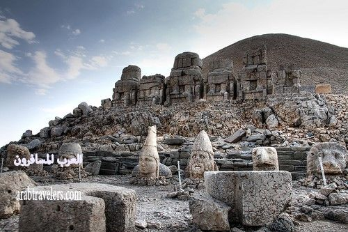 صور جبل النمرود بتركيا