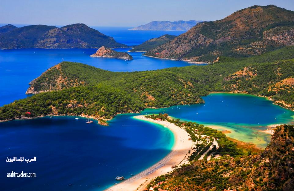 اجمل الشواطىء والموانى التركية