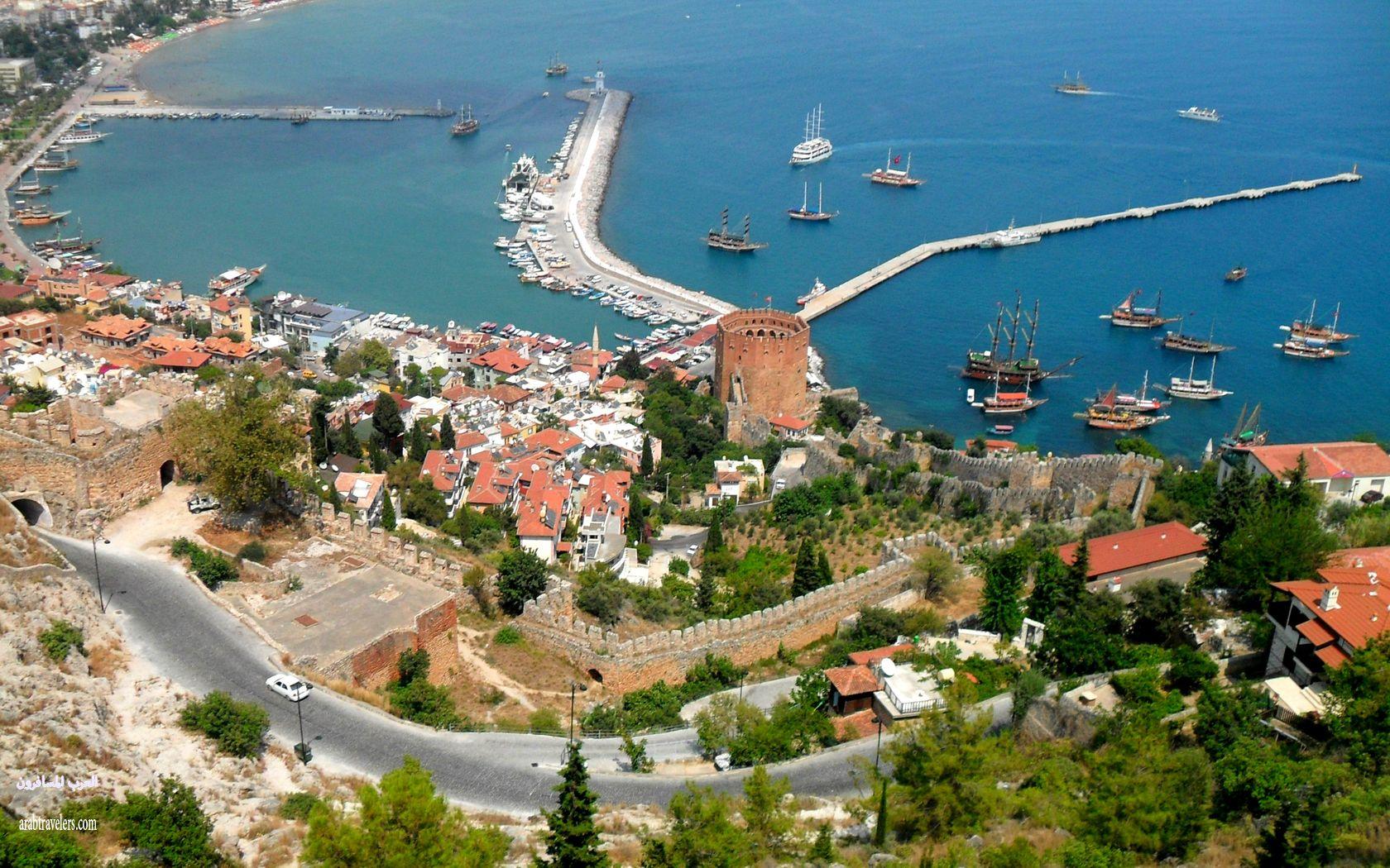 ألانيا أجمل منتجعات تركيا