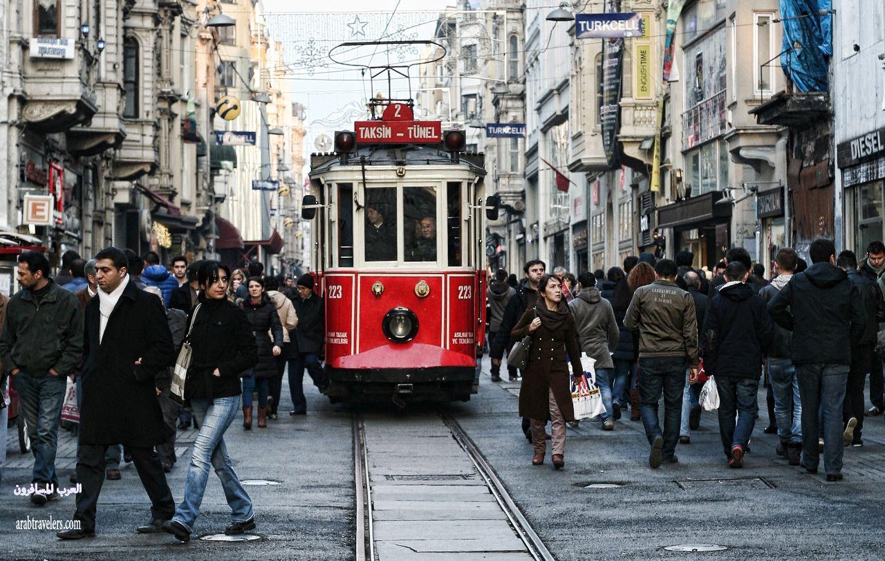 اهم شوارع اسطنبول التسويقية
