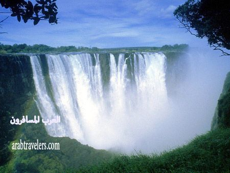 شلالات افريقيا الرائعة