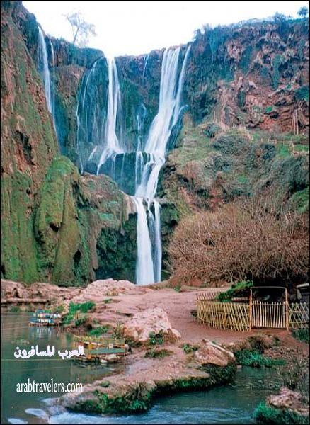 أحلي شلالات المغرب