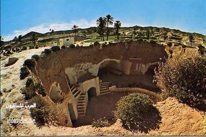 مدينة تونسية تحت الارض