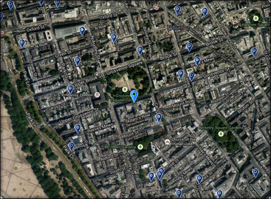 ميلينيوم لندن مايفير 167694 المسافرون العرب
