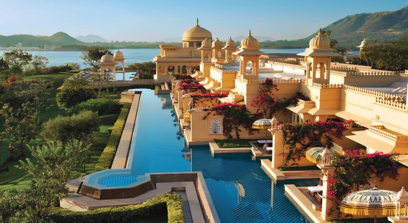 410754 المسافرون العرب أفضل و أفخم فندق في الهند والمناسب جدا للعوائل و بتصنيف 9.7 The Oberoi Udaivilas Uda