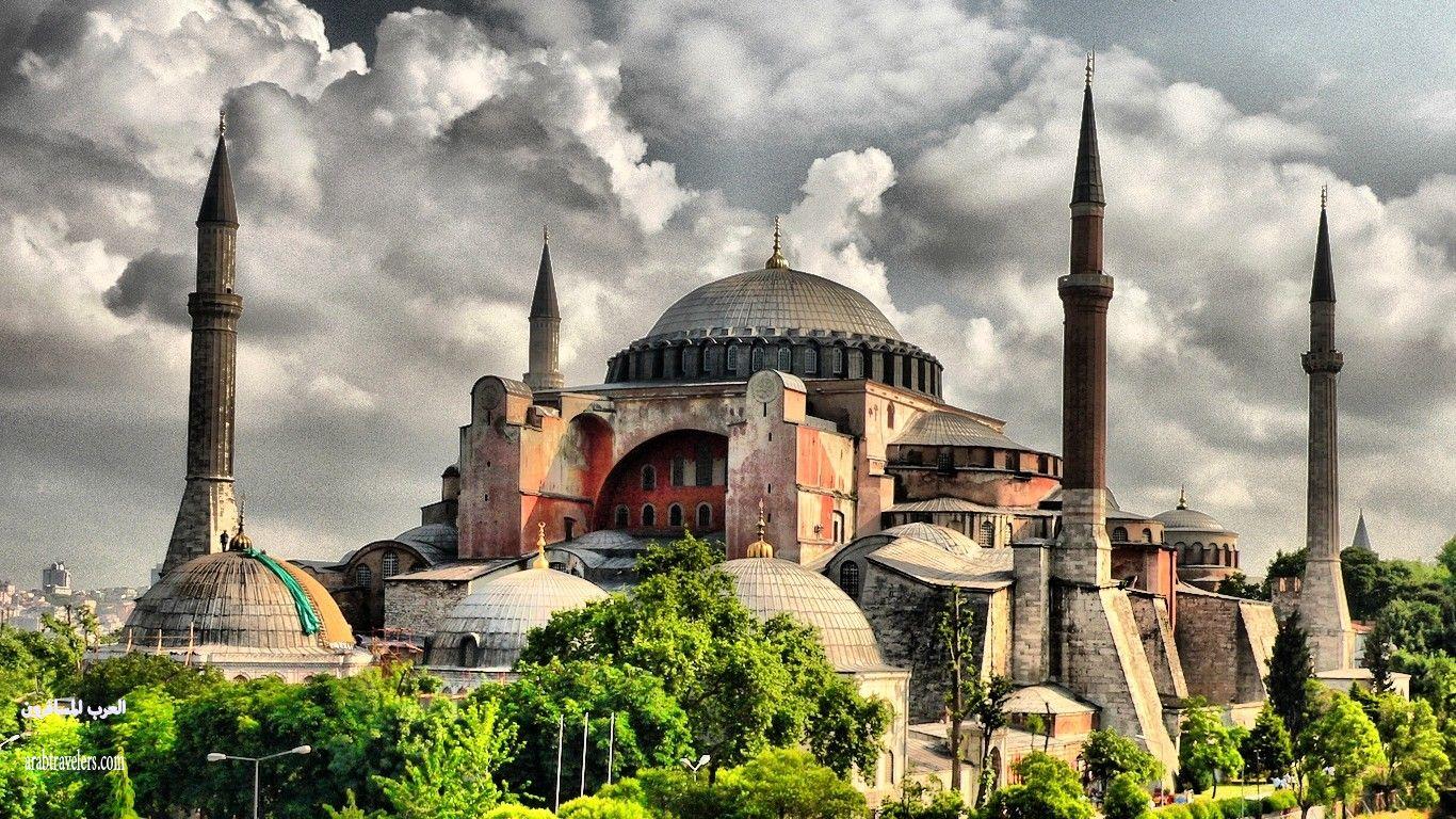 مسجد آيا صوفيا التاريخي في مدينة إسطنبول 411039 المسافرون العرب