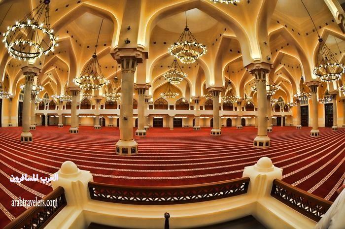 افتتاح مسجد الإمام محمد بن عبد الوهاب بـ قطر .. 411050 المسافرون العرب