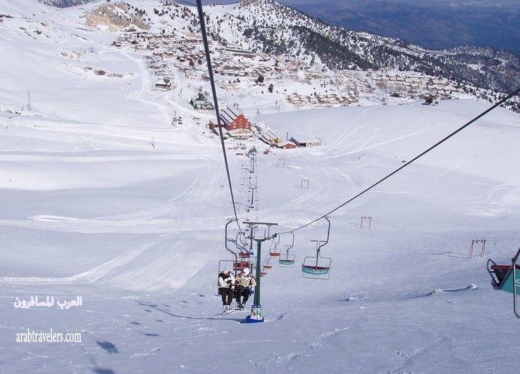 411123 المسافرون العرب منتجع مركز التزلج ساكلي كنت
