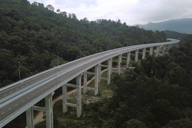 450283 المسافرون العرب الطريق الإلتفافي الجديد rawang bypass