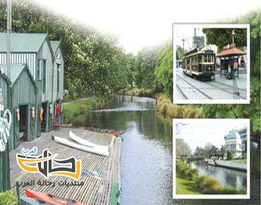مدينة كرايستشيرتش النيوزيلندية معالم صور طبيعية وسياحية 4820 المسافرون العرب