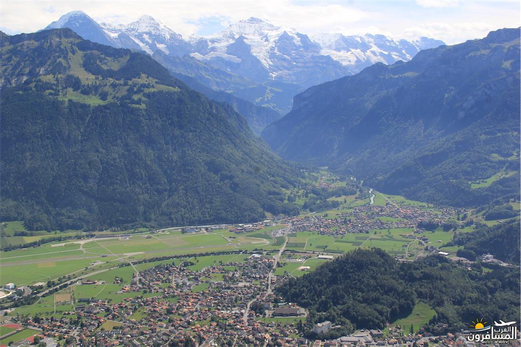 سويسرا بيوت ملوّنة و جداريات-543851