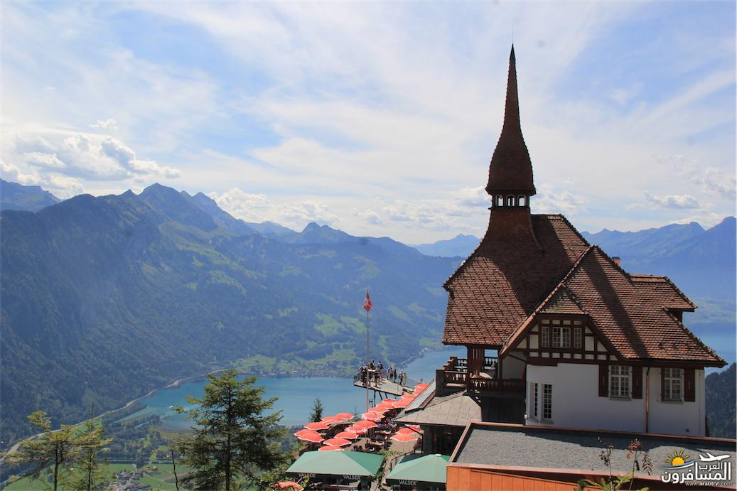 سويسرا بيوت ملوّنة و جداريات-543855