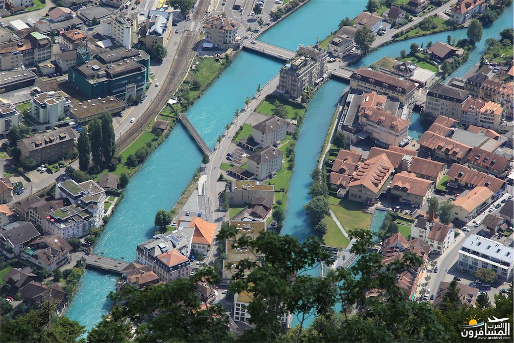 سويسرا بيوت ملوّنة و جداريات-543858