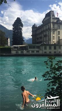 سويسرا بيوت ملوّنة و جداريات-543865