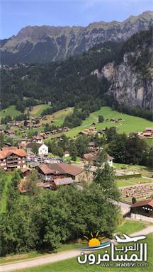 سويسرا بيوت ملوّنة و جداريات-543869