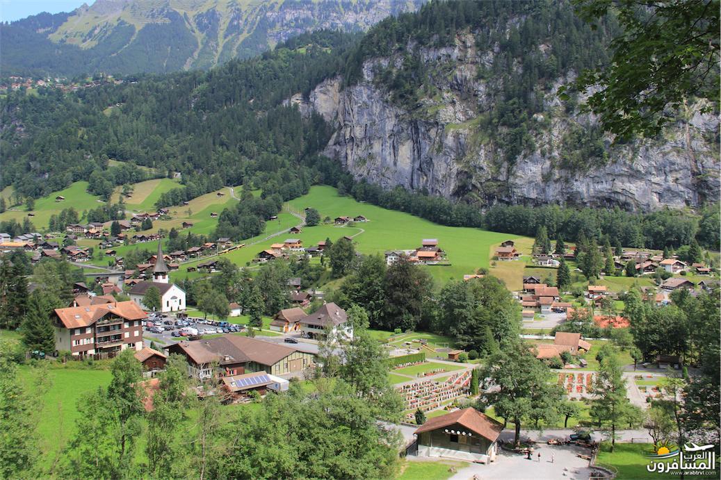 سويسرا بيوت ملوّنة و جداريات-543877