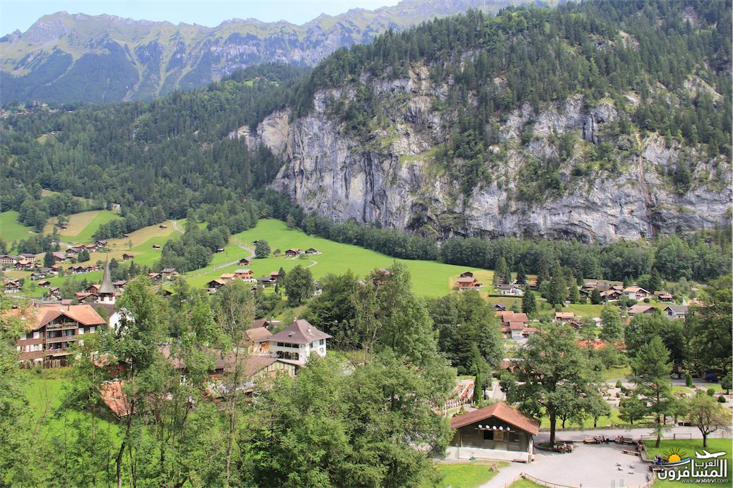 سويسرا بيوت ملوّنة و جداريات-543879