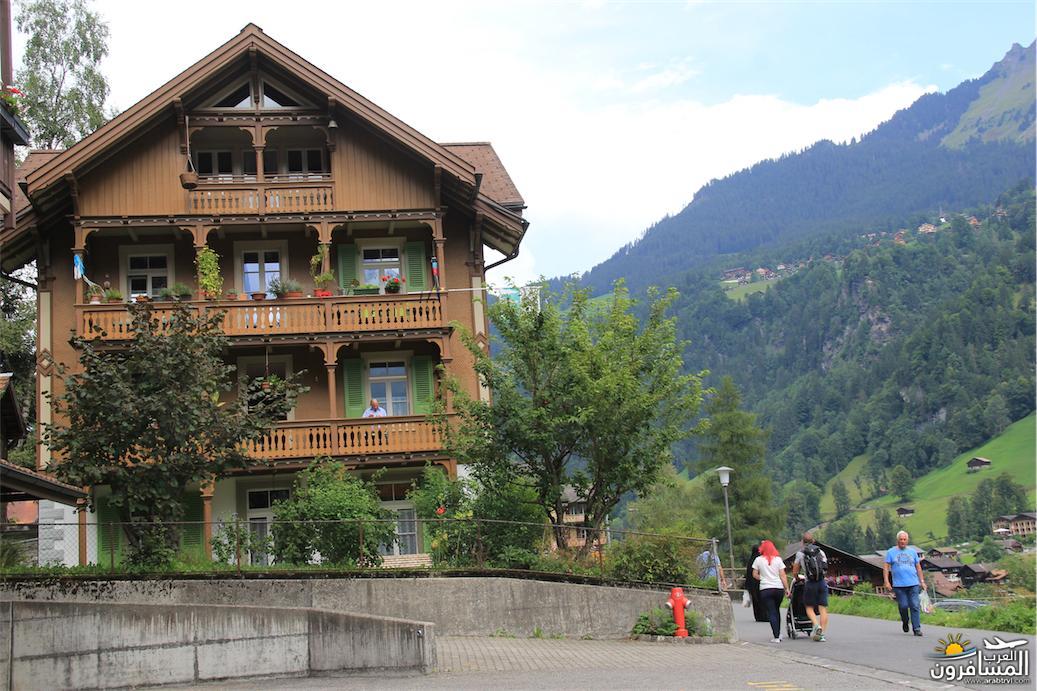 سويسرا بيوت ملوّنة و جداريات-543881