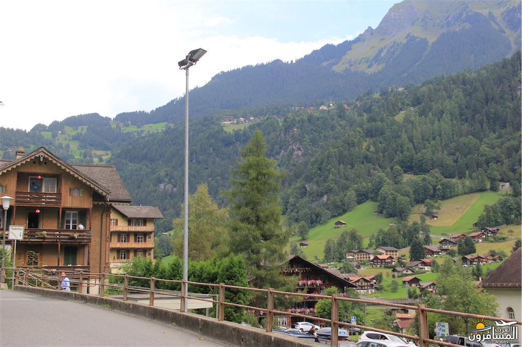 سويسرا بيوت ملوّنة و جداريات-543883