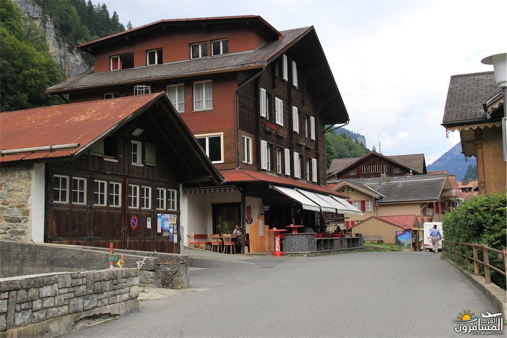 سويسرا بيوت ملوّنة و جداريات-543884
