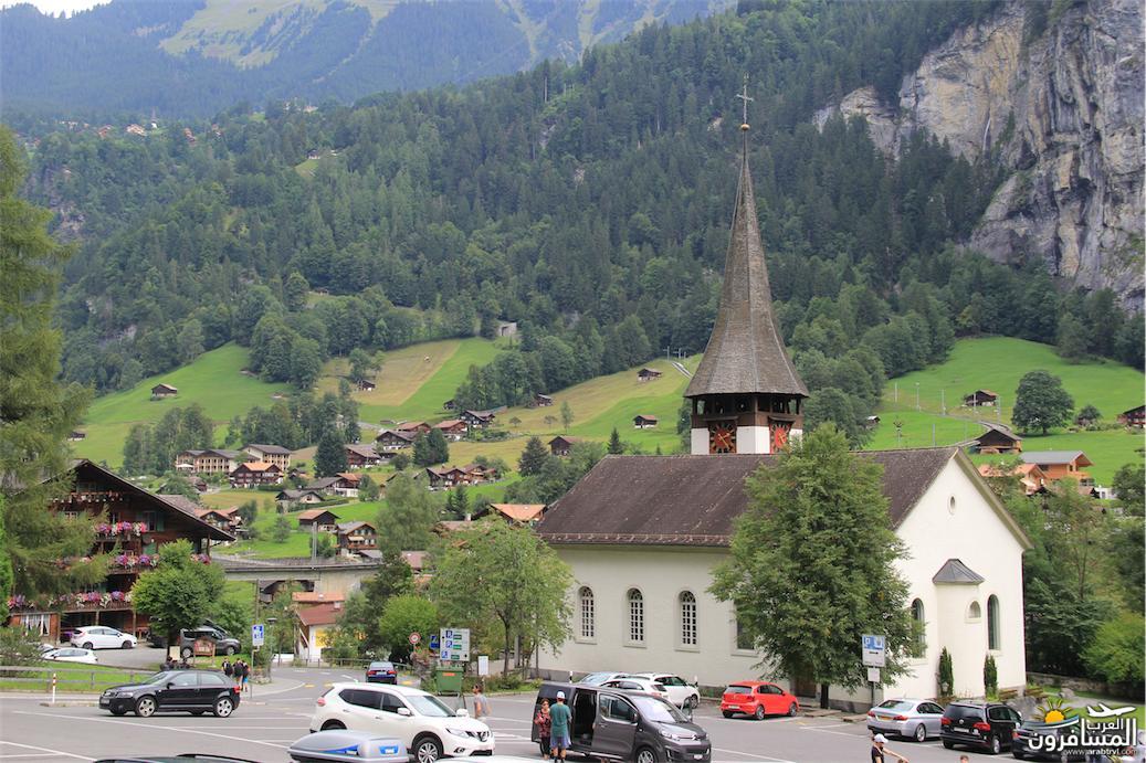 سويسرا بيوت ملوّنة و جداريات-543886