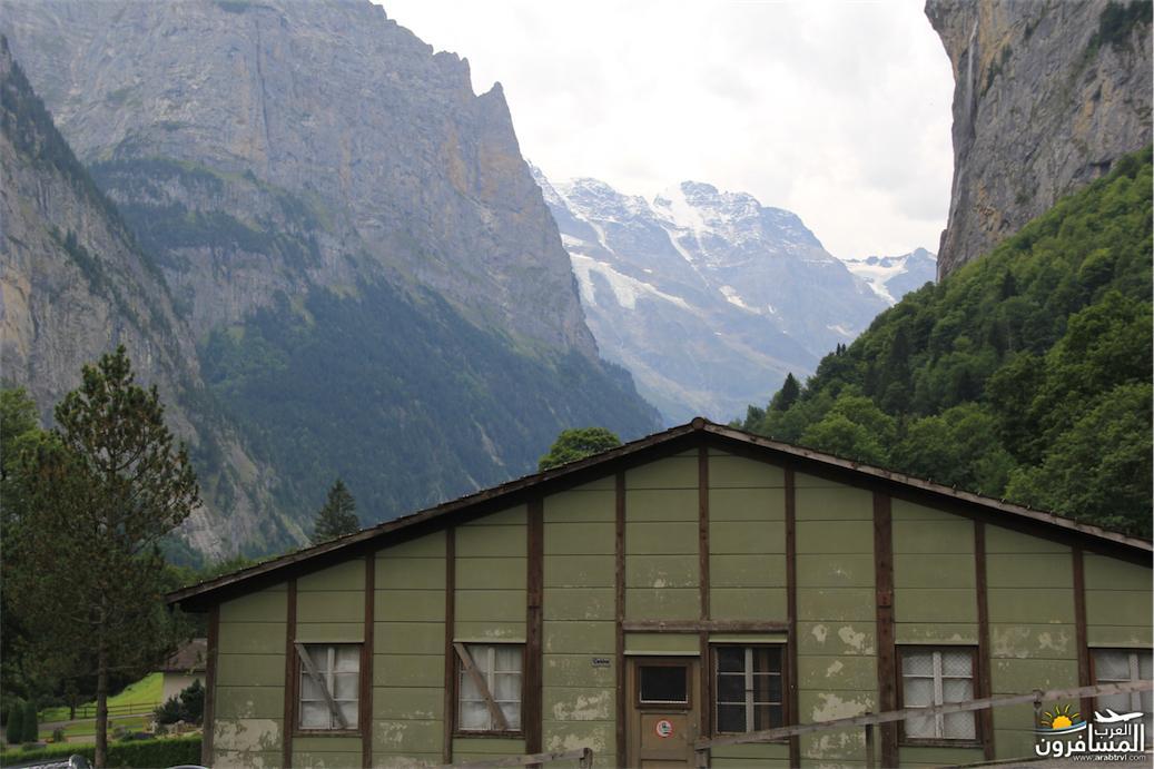 سويسرا بيوت ملوّنة و جداريات-543890