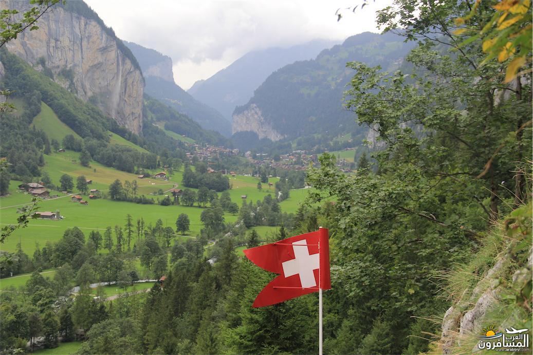 سويسرا بيوت ملوّنة و جداريات-543893