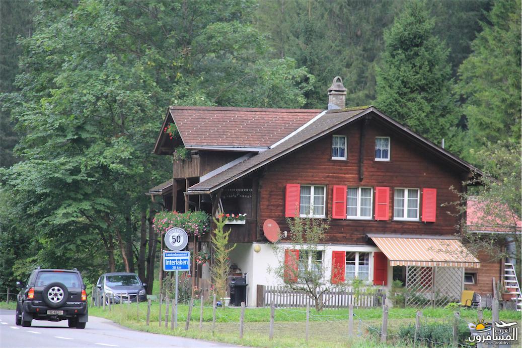 سويسرا بيوت ملوّنة و جداريات-543966
