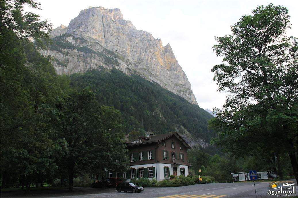 سويسرا بيوت ملوّنة و جداريات-543967
