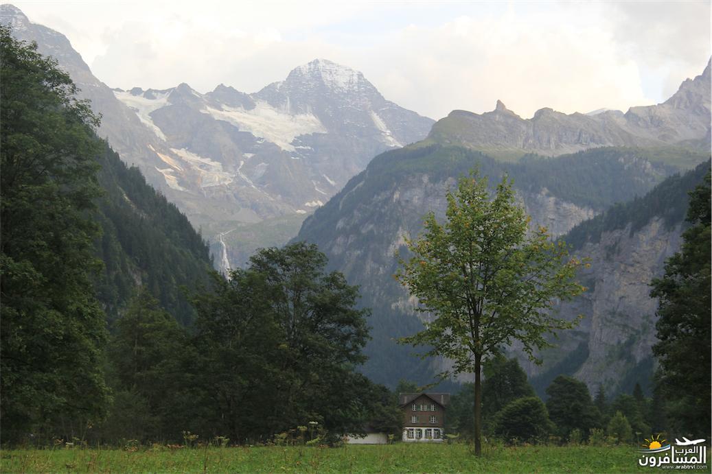 سويسرا بيوت ملوّنة و جداريات-543968