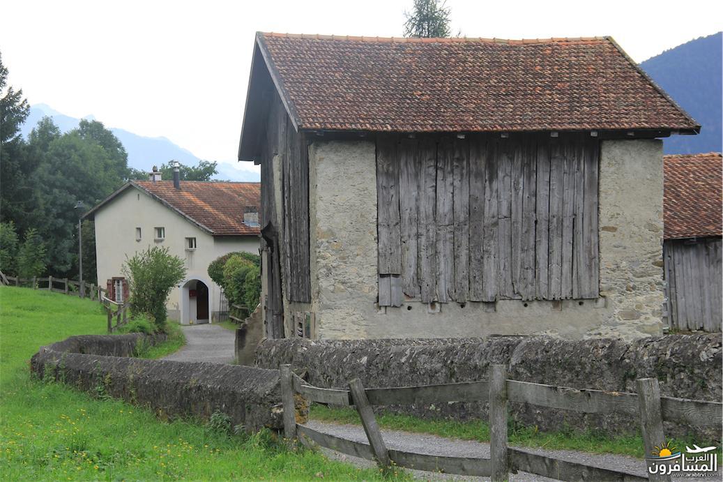 سويسرا بيوت ملوّنة و جداريات-543976