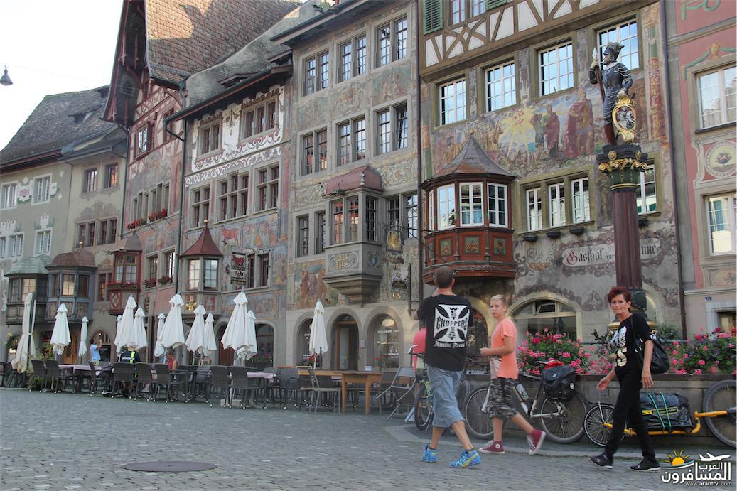 سويسرا بيوت ملوّنة و جداريات-544026