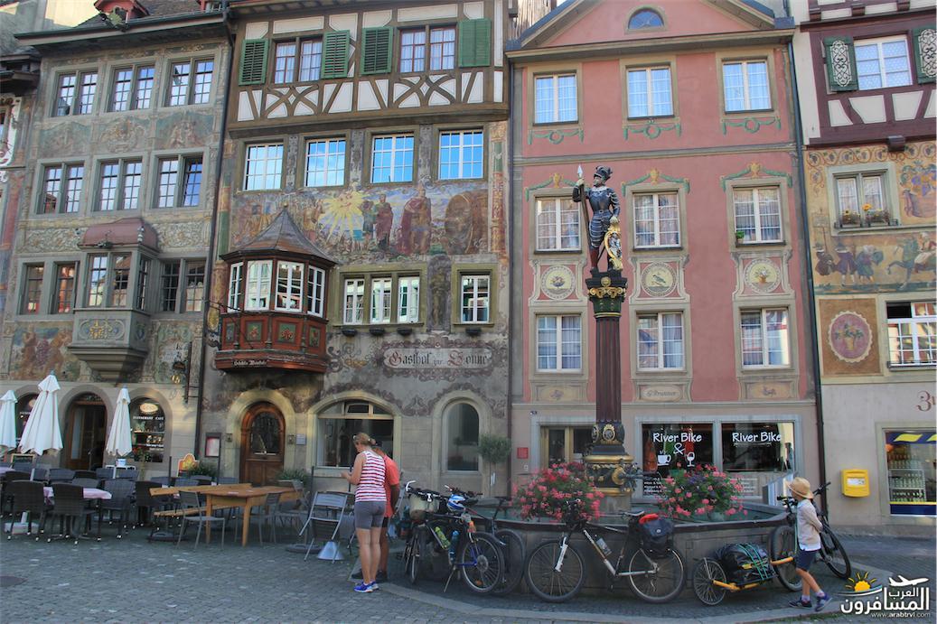 سويسرا بيوت ملوّنة و جداريات-544029