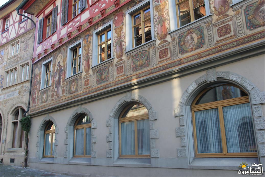سويسرا بيوت ملوّنة و جداريات-544031